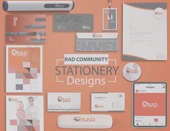 RAD Community Stationary Design